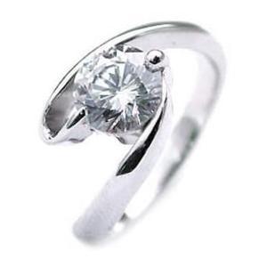 ダイヤモンド指輪 ソリティア 一粒 大粒 ダイヤモンド ダイヤ リング 1カラット|suehiro