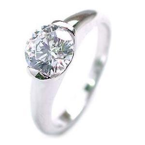 ダイヤモンド指輪 ソリティア 一粒 大粒 ダイヤモンド ダイヤ リング 1カラット セール|suehiro