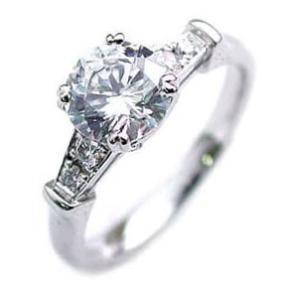 ダイヤモンド指輪 ソリティア 一粒 大粒 ダイヤモンド ダイヤ リング 1カラット セール 母の日 春|suehiro