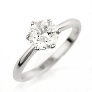 婚約指輪 1カラット ソリティア 一粒 大粒 ダイヤモンド リング セール 母の日 春|suehiro
