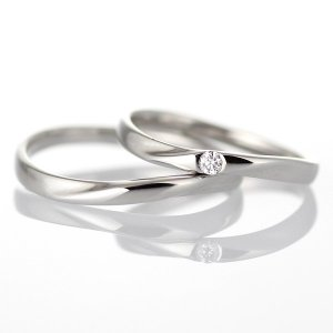 結婚指輪 プラチナBrand Jewelry TwinsCupidプラチナ900ダイヤモンドペアリング ラブノット セール|suehiro