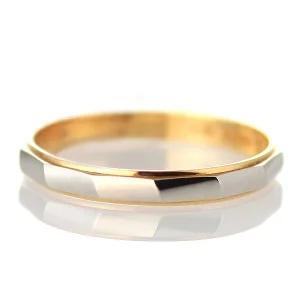 ペアリング プラチナ 結婚指輪 マリッジリング 18金 ゴールド 刻印無料|suehiro