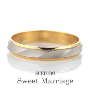 結婚指輪 ペア マリッジリング ペアリング プラチナ 18金 ゴールド 5〜22号 刻印無料|suehiro
