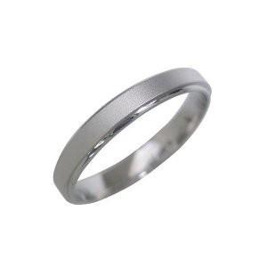 つや消し 結婚指輪 マリッジリング ペアリング プラチナ メリッサ  文字入れ 刻印 serieux|suehiro