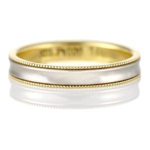 ペアリング 結婚指輪 マリッジリング ミル打ち アンティーク調|suehiro
