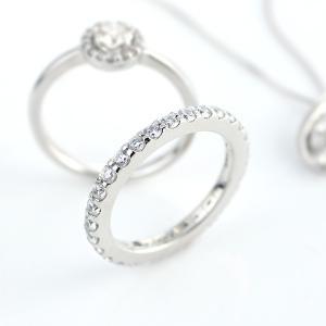 指輪レディース 指輪 プラチナ エタニティリング エタニティリング フルエタニティ プラチナコーティング 指輪 リング レディース アクセサリー ブランド セール|suehiro|12
