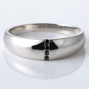 メンズ 指輪 メンズ リング ブラック キュービックジルコニ...