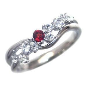 ダイヤモンド指輪 エタニティリング ガーネット リング 指輪 ガーネット 1月 誕生石 スイート エタニティ ダイヤモンド リング ファッションリング セール suehiro