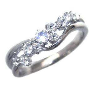 指輪レディース ムーンストーン リング 指輪 (ムーンストーン) 6月 誕生石 ファッションリング【今だけ代引手数料無料】|suehiro