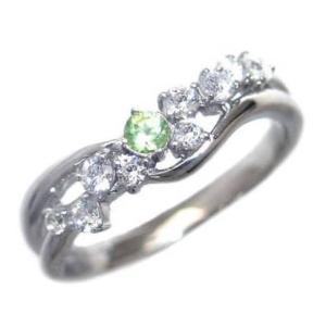 指輪レディース ペリドット 8誕生石 リング 指輪 8月 誕生石 ファッションリング【今だけ代引手数料無料】|suehiro