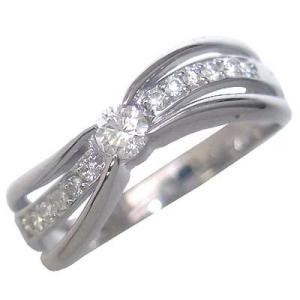 婚約指輪 安い エンゲージリング ダイヤモンド ダイヤ リング 指輪 人気 リング ホワイトゴールド ファッションリング【今だけ代引手数料無料】 suehiro