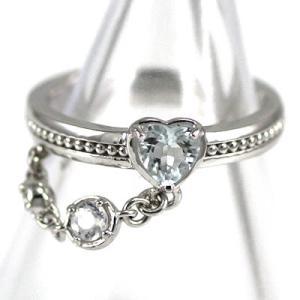 ハート 指輪 ピンキーリング ピンキー リング ホワイトゴー...