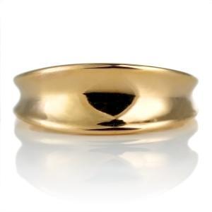 純金 24金 リング イエローゴールド シンプル メンズ 地金 リング セール