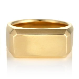 純金 24金 リング イエローゴールド 印台 メンズ 地金 リング セール