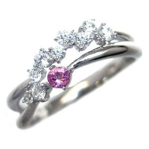 ダイヤモンド指輪 エタニティリング スイート エタニティ ダイヤモンド 10月誕生石プラチナ ピンクトルマリン ダイヤモンドリング 結婚 10周年記念 セール|suehiro