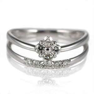 ダイヤモンド指輪 スイートエタニティ 10粒 ダイヤモンド リング シンプルプラチナダイヤモンドリング 指輪 ストレート アクセ【今だけ代引手数料無料】|suehiro