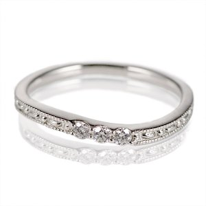 指輪レディース ダイヤモンド指輪 ダイヤモンド リング シンプルプラチナダイヤモンドリング アンティーク 指輪 ストレート アクセ【今だけ代引手数料無料】|suehiro