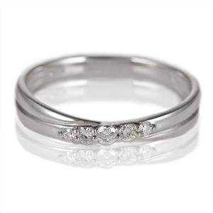 ダイヤモンド指輪 ダイヤモンド リング シンプルプラチナダイヤモンドリング プラチナ ダイヤ 指輪 5石 指輪 プラチナ900 ストレート【今だけ代引手数料無料】|suehiro