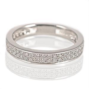 ダイヤモンド指輪 ダイヤモンド リング シンプルプラチナダイヤモンドリング 指輪 パヴェ プラチナ900 ストレート レディース 人気 プレゼント セール suehiro