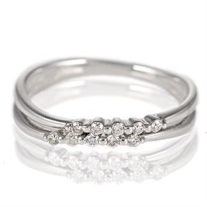 ダイヤモンド指輪 スイートエタニティ 10粒 ダイヤモンド リング シンプルプラチナダイヤモンドリング 指輪 プラチナ900 ストレート アクセ セール suehiro