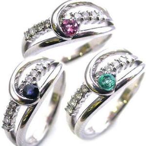ダイヤモンド指輪 結婚10周年記念 プラチナ ダイヤモンド リング 誕生石入り|suehiro
