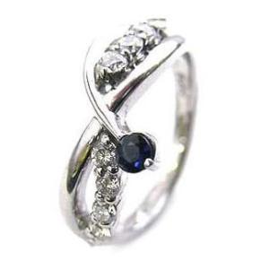 エンゲージリング 婚約指輪 ダイヤモンド ダイヤ プラチナ リング サファイア 夏|suehiro
