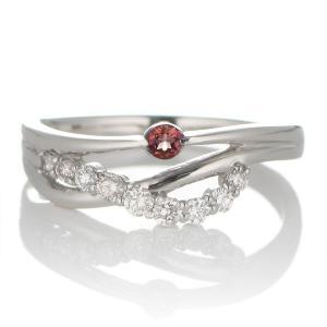 婚約指輪 安い エンゲージリング ダイヤモンド ダイヤ リング 指輪 人気 ダイヤ プラチナ リング ガーネット|suehiro