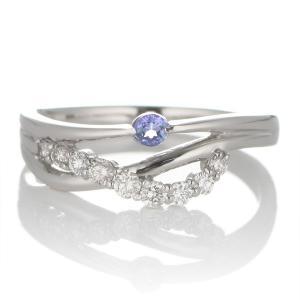 婚約指輪 安い エンゲージリング ダイヤモンド ダイヤ リング 指輪 人気 ダイヤ プラチナ リング タンザナイト|suehiro