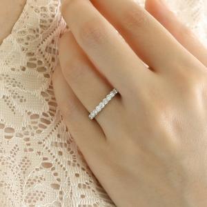 エタニティリング 指輪 プラチナ ダイヤ エタニティ リング 0.5ct プラチナ900 エタニティ セール|suehiro|02