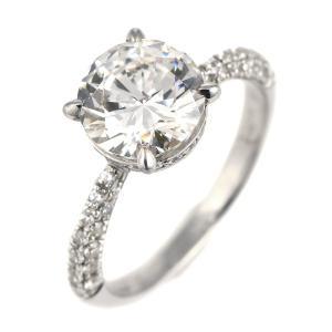 2カラット ダイヤモンド リング 指輪 プラチナ900 大粒 ダイヤ セール suehiro