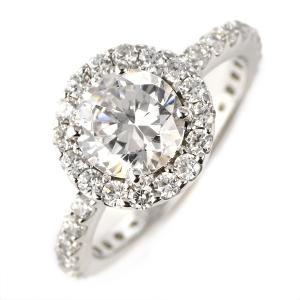 ダイヤモンド 1カラット リング プラチナ ダイヤモンドリング 1ct ソリティア 一粒 大粒 鑑別書付 セール suehiro