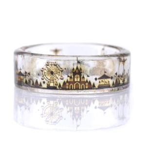 指輪レディース モノクローム遊園地の指輪【今だけ代引手数料無料】|suehiro