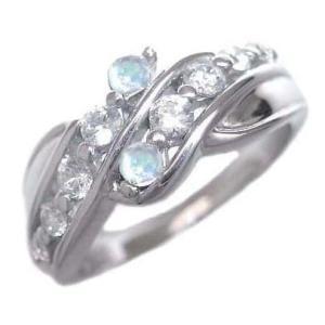 ダイヤモンド指輪 エタニティリング スイート エタニティ ダイヤモンド 6月誕生石K18ホワイトゴールド ムーンストーン 結婚 10周年【今だけ代引手数料無料】|suehiro