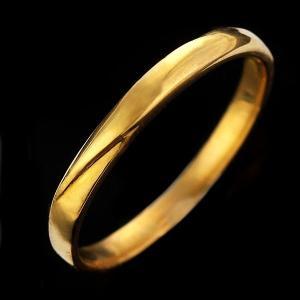 メンズ 指輪 リング メンズ イエローゴールド 24金【今だけ代引手数料無料】 suehiro