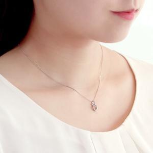 ダイヤモンド ネックレス プラチナ プレゼント 結婚記念日|suehiro|02