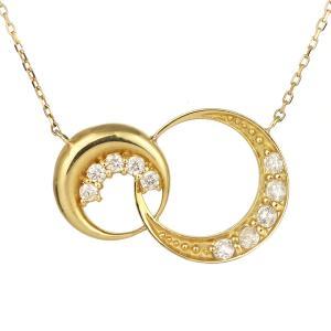 スイート エタニティ 10個のダイヤモンド 結婚10周年 ダイヤモンド ネックレス 18金 suehiro