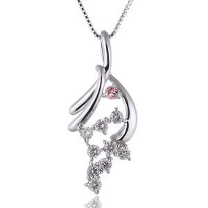 スイート エタニティ ダイヤモンド 10個 ダイヤモンド ネックレス 結婚 10周年記念【今だけ代引手数料無料】|suehiro