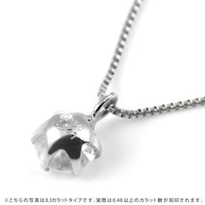 ネックレス レディース 天然石 ダイヤモンド ネックレス プラチナ 一粒 0.4カラット 鑑別書付|suehiro|15