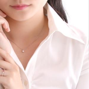 ネックレス レディース 天然石 ダイヤモンド ネックレス プラチナ 一粒 0.4カラット 鑑別書付|suehiro|10
