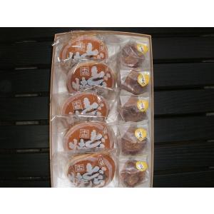 和菓子詰め合わせ5「くるみまんじゅう5個/井の頭どら焼き5個」2100円(税込)のし無料対応します|sueki3154