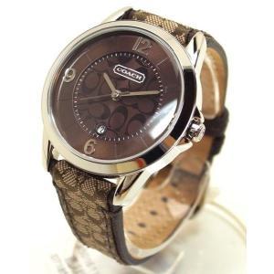 COACH コーチ 腕時計 クラシック シグネチャー ブラウン 14501611 レディース suemune
