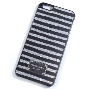 M.MICHAEL KORS マイケル・マイケルコース スマホカバー スマホケース iPhone6plus/6s plus用 シルバー 32h5sell6p|suemune