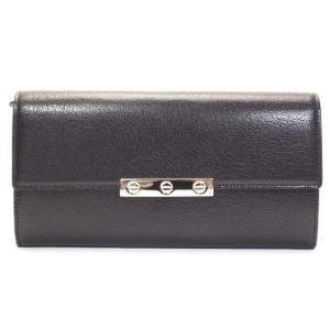 Cartier カルティエ 長財布 ラブ コレクション ゴートスキン ブラック L3001375