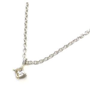 K10WG(ホワイトゴールド) ダイヤモンド ネックレス ペンダント レディース|suemune