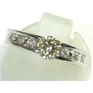 Pt900(プラチナ) ダイヤモンド 指輪 リング 8号 レディース|suemune
