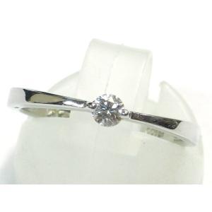 Pt900(プラチナ) ダイヤモンド 指輪 リング 11号 レディース|suemune