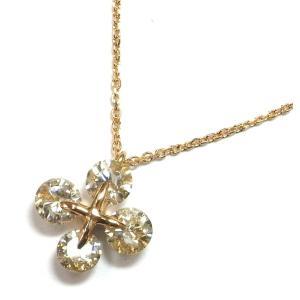 K18(ゴールド) ダイヤモンド ネックレス ペンダント レディース  4月誕生石|suemune