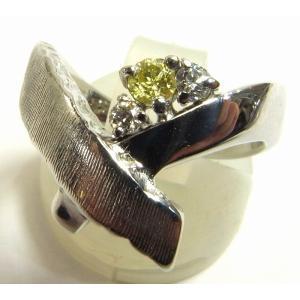 K18WG(ホワイトゴールド) ダイヤモンド 指輪 リング レディース|suemune