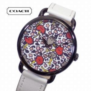 COACH コーチ 腕時計 クォーツ 36mm デランシー フローラル マルチカラー 14502729 ブティック品 レディース suemune