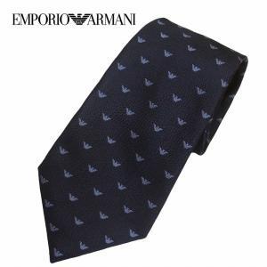 ☆人気ブランド エンポリオアルマーニの アイコニックなロゴ柄のレギュラータイです。  自分へのご褒美...